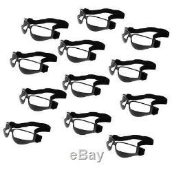 12 Pack Basketball Dribble Specs Sports Glasses Frame Training Goggles Black
