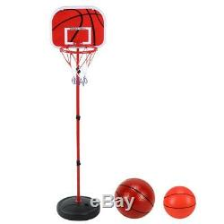 150CM Adjustable Basketball Stand Game Training Equipment Kids Indoor Outdoor