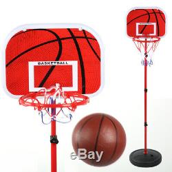 150CM Adjustable Basketball Stand Game Training Equipment Kids Sports Play Toys