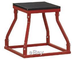 18 Plyometric Box Jump Speed Strength Training Aid Tool Vertical Jumping Drills