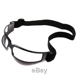 25pcs Basketball Dribble Goggles Training Aid Supplies Black Dribbling Specs
