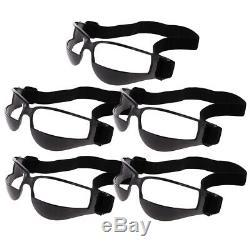 25pcs Black Dribble Specs Dribbling Goggles Basketball Sport Training Aid