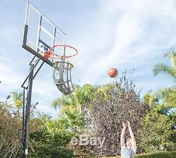 360 Basketball Return System Basketball Rebounding Machine Net Ball Rebound Hoop