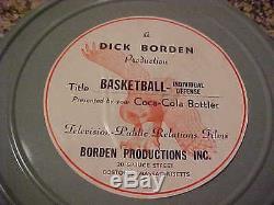3 Basketball Training Films Incl. University of Kentucky Coach Adolph Rupp