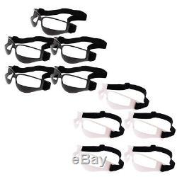 40pcs Black Dribble Specs Dribbling Glasses Basketball Sports Training Aid