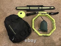 6 Nike Sparq Training Speed Hurdles + Parachute +Hoops + Cones Training Sports