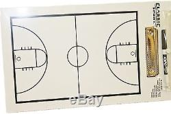 924 Basketball Coaching Board Coaches Clipboard Dry Erase withmarker