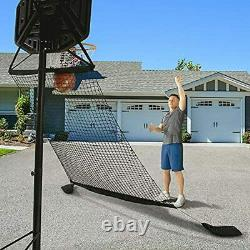 Activise Sport Basketball Return Net- Basketball Rebounder Attachment, Basketbal
