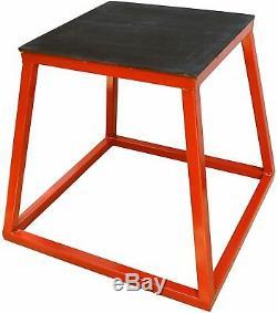 Ader Plyometric Platform Box- 18 Red