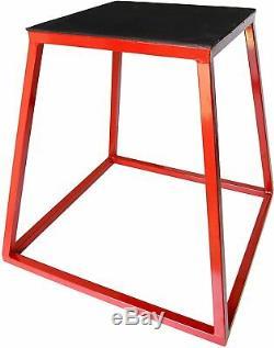 Ader Plyometric Platform Box- 24 Red