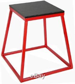 Ader Red Plyometric Platform Set- 30'' 36'' 42'' Platform Jump Box Jump Training