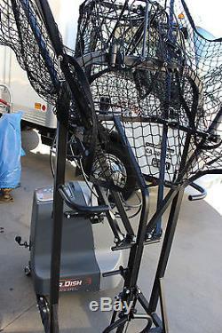 Airborne Athletics Dr. Dish Rebel Shooting Machine Home Basketball Shot Trainer