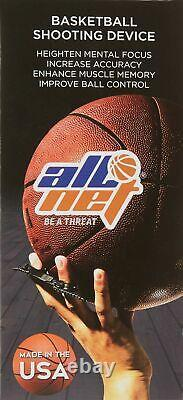 AllNet Basketball Shooting Aid Hoops Training Shooting Device, Help Improve Y