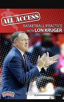 All Access Basketball Practice with Lon Kruger 2016 New Release Oklahoma 3 dvds