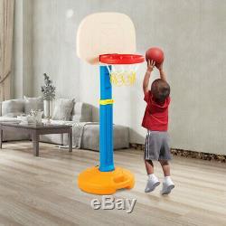 Aro De Baloncesto Basketball Juegos Niños Portátil Ajustable Soporte Resistente