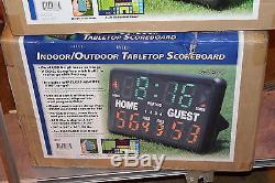BSN Indoor/Outdoor Tabletop Scoreboard 1240580 with remote control