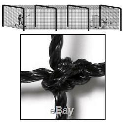 BSN Sports Pro Batting Tunnel Net 70x14x12