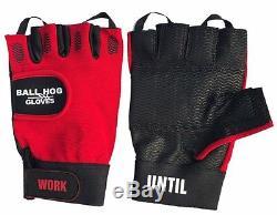 Ball Hog Dribbling Gloves + Grip Strengthener Basketball Training Aids ETC