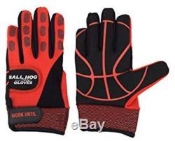Ball Hog Gloves Weighted Anti Grip Ball Handling X-Factor Basketball Training XL