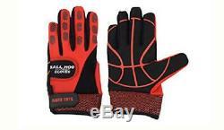 Ball Hog Gloves Weighted Anti Grip Ball Handling X-Factor Training Aid