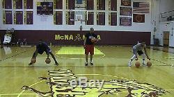 Ball Hog Gloves X-Factor + Grip Strengthener BASKETBALL DRIBBLING Training Aid