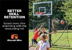 Ball Return Net Basketball Yard Guard Easy Fold Defensive Net System Any Hoop