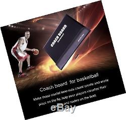 Basketball Coaching Board Coaches Clipboard Tactical Magnetic Board Kit With