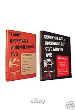 Basketball Coaching DVDs Fundamentals/Screen (2 DVDs) 4 Hours of Instruction