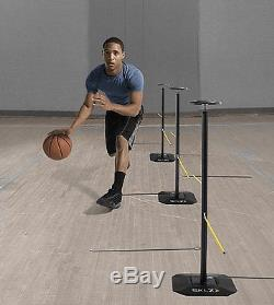 Basketball Dribble Practice Stick Trainer Sports Coaching Dribbling Training