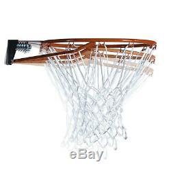 Basketball Hoop Stand Portable Height-Adjustable 48 Shatterproof Backboard
