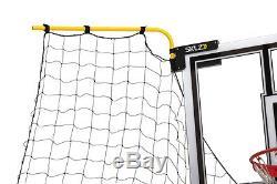 Basketball Net Adjustable Portable Return Catch System House Yard Gym Shoot Ball