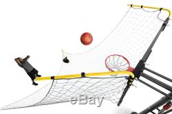 Basketball Net Ball Return System Backboard Strap Arm Shooting Drill Practice