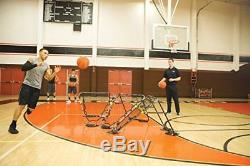 Basketball Rebounder Portable Folds Flat Perfect Training Player Solo Assist