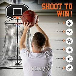 Basketball Return Net- Basketball Rebounder Attachment, Basketball Return