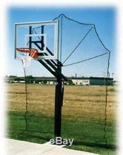 Basketball Return Net Guard Backstop Hoop Rebound Back Netting Attachment Yard