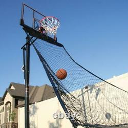 Basketball Return Net Hoop Attachment Ball Practice Shooting Training Outdoor