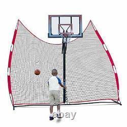 Basketball Return Netting and Rebounder. Basketball Backstop, Barrier Net, and