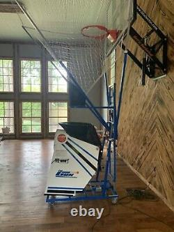 Basketball Shooting Gun 5000with Shot-Tracker by Shoot-A-Way Newithused