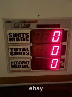 Basketball Shooting Gun 8000 with Shot-Tracker by Shoot-A-Way Refurbished