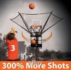 Basketball Shot Trainer Net Catch Return Ramp Score Hoops