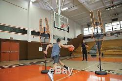 Basketball Training Equipment Trainer Builds Offensive Skills Shot Trajectory