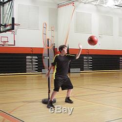 Basketball Training Shoot Ball Practice Football Offend Pole Mesh Defensive Jump