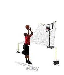 Basketball Training Shooting Practice Ball Return System Game Court Hoop Sklz