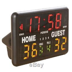 Basketball/ Volleyball/Other Sport Indoor Table Top Scoreboard Free Shipping