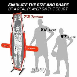 Basketball Xtraman Dummy Defender Training Mannequin Huge 7' Size for Shooting