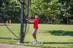 Basketball Yard Guard Easy Fold Defensive Net System Quickly Installs Style