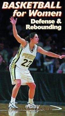 Basketball for Women Defense & Rebounding Video VHS