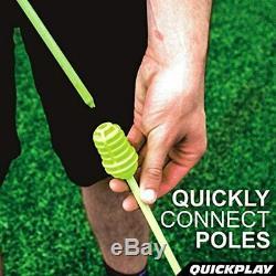 Bastones de entrenamiento portátiles para exteriores Juego de 12 agilidad futb