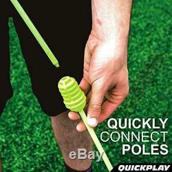 Bastones de entrenamiento portátiles para exteriores Juego de 12 agilidad futbo