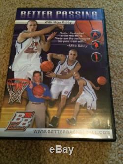 Better Basketball Instructional DVD 4 Set Ball Hoops Passing Shooting Dribbling